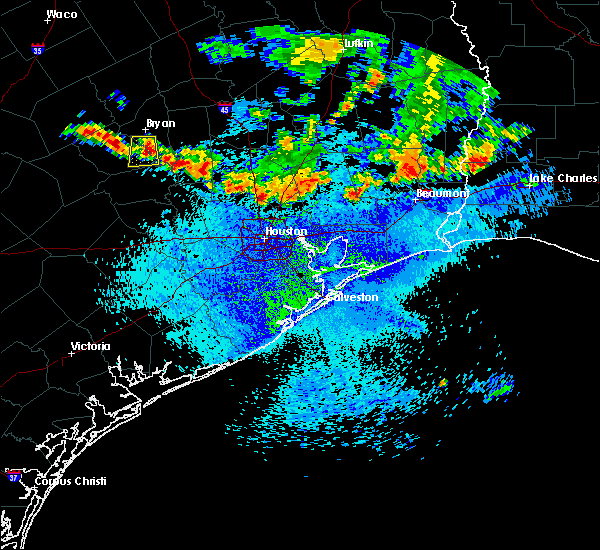 Radar Image for Severe Thunderstorms near Channelview, TX at 8/25/2015 12:51 PM CDT