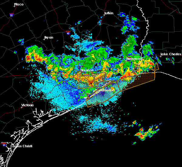 Radar Image for Severe Thunderstorms near Pasadena, TX at 8/25/2015 2:14 PM CDT