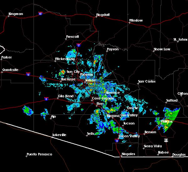 Interactive Hail Maps - Hail Map for Tempe, AZ