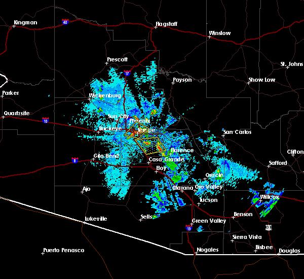 Radar Image for Severe Thunderstorms near Florence, AZ at 8/29/2015 8:39 PM MST