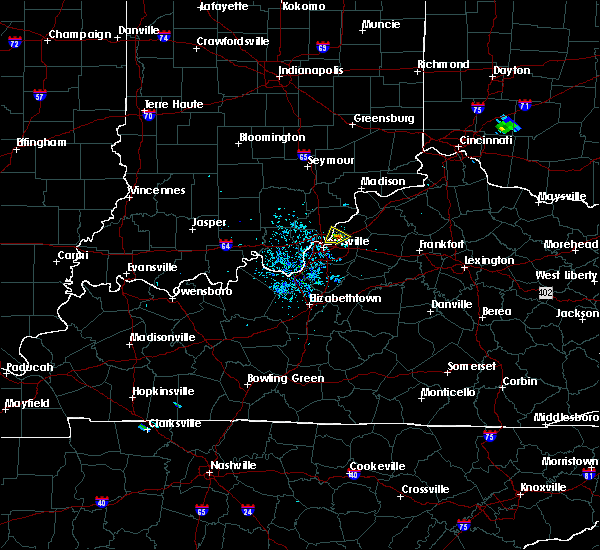 Radar Image for Severe Thunderstorms near Utica, KY at 9/1/2015 8:20 PM EDT