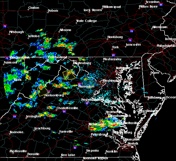 Radar Image for Severe Thunderstorms near Timberville, VA at 9/2/2015 3:13 PM EDT