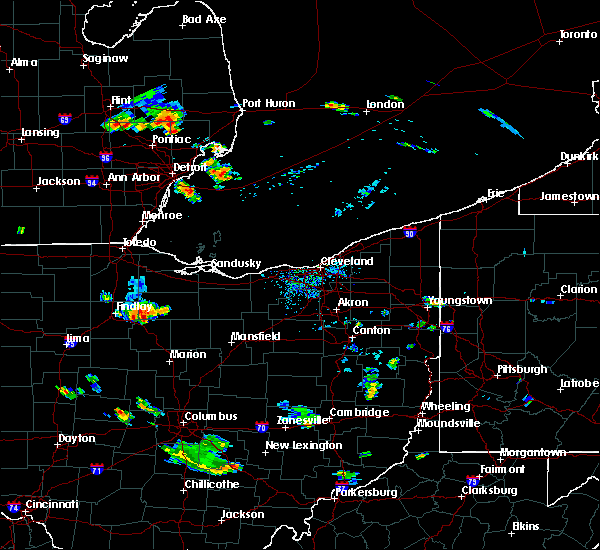 Radar Image for Severe Thunderstorms near New Riegel, OH at 9/2/2015 5:51 PM EDT