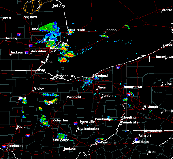 Radar Image for Severe Thunderstorms near Cardington, OH at 9/2/2015 7:04 PM EDT