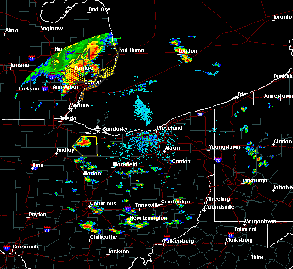 Radar Image for Severe Thunderstorms near Attica, OH at 9/3/2015 1:54 PM EDT