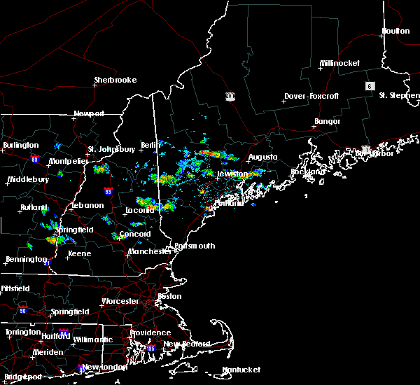 Radar Image for Severe Thunderstorms near Milton Mills, NH at 9/3/2015 2:16 PM EDT