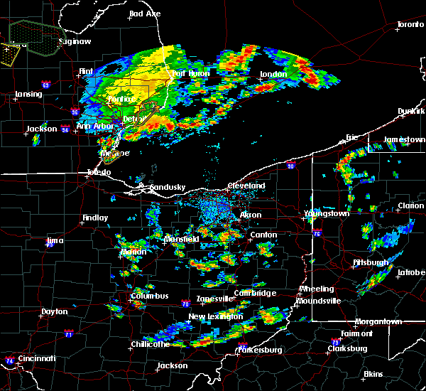 Radar Image for Severe Thunderstorms near North Lawrence, OH at 9/3/2015 3:41 PM EDT