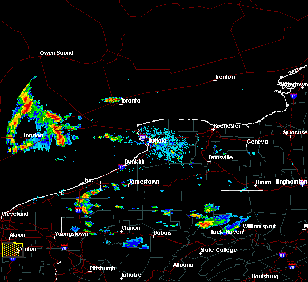 Radar Image for Severe Thunderstorms near Edinboro, PA at 9/3/2015 3:51 PM EDT