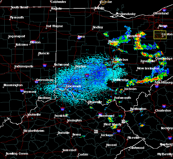Radar Image for Severe Thunderstorms near Westerville, OH at 9/3/2015 4:09 PM EDT