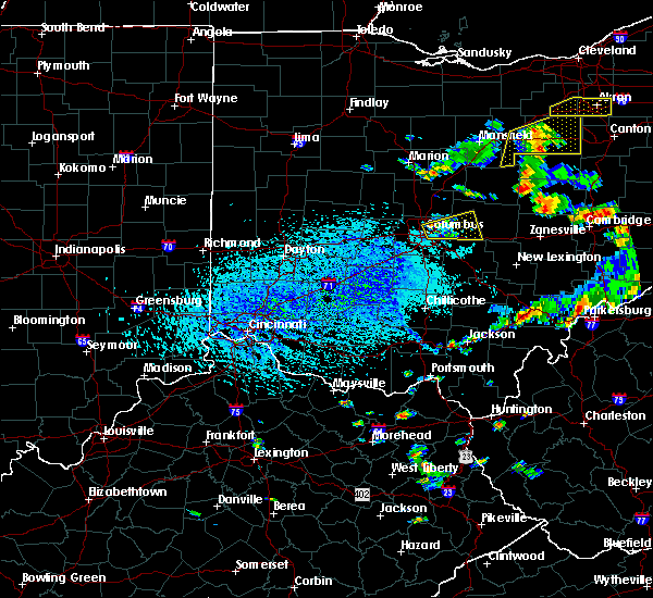 Radar Image for Severe Thunderstorms near Westerville, OH at 9/3/2015 4:40 PM EDT