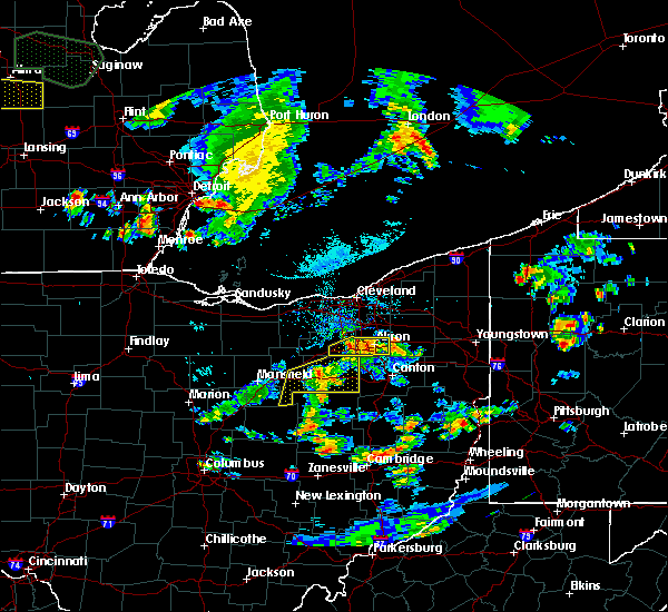 Radar Image for Severe Thunderstorms near Rittman, OH at 9/3/2015 4:52 PM EDT