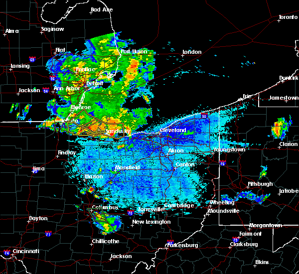 Radar Image for Severe Thunderstorms near Port Clinton, OH at 9/3/2015 9:13 PM EDT