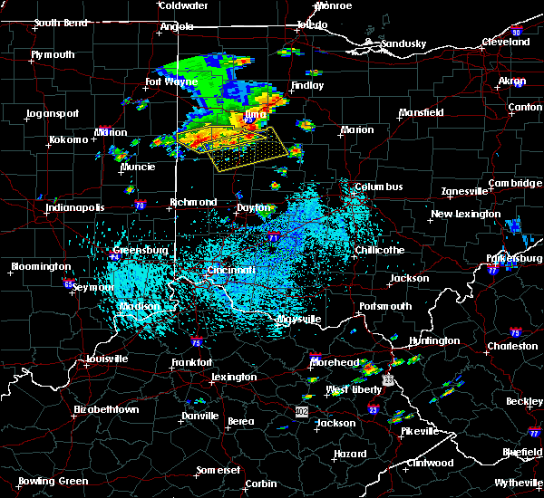 Radar Image for Severe Thunderstorms near Huntsville, OH at 9/4/2015 2:48 PM EDT