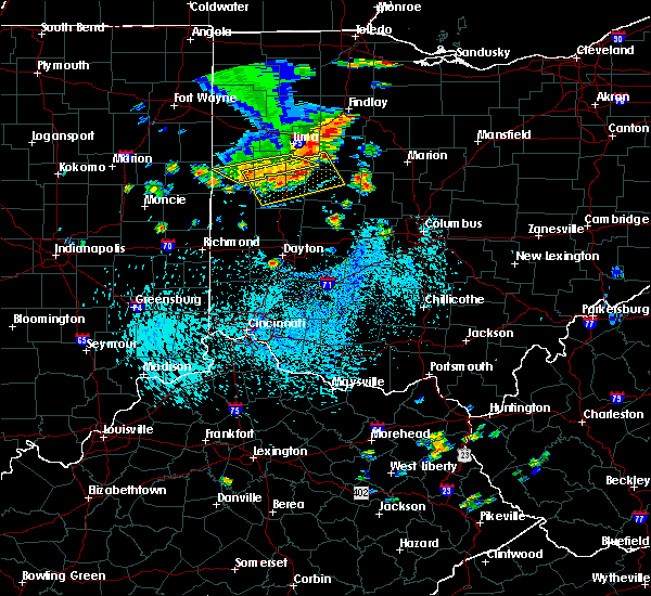 Radar Image for Severe Thunderstorms near Uniopolis, OH at 9/4/2015 3:10 PM EDT