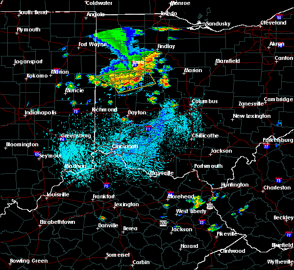Radar Image for Severe Thunderstorms near Sidney, OH at 9/4/2015 3:12 PM EDT