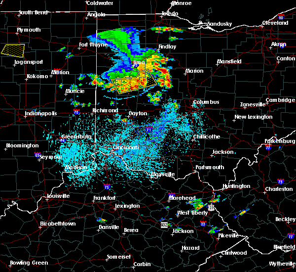 Radar Image for Severe Thunderstorms near Kenton, OH at 9/4/2015 3:22 PM EDT