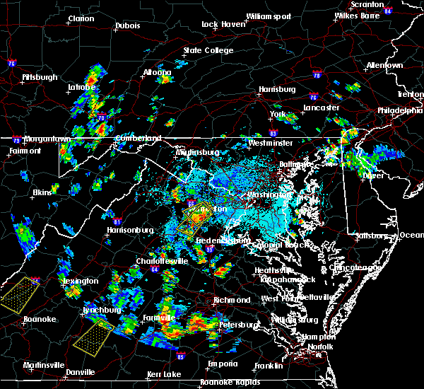 Radar Image for Severe Thunderstorms near Calverton, VA at 9/4/2015 3:31 PM EDT