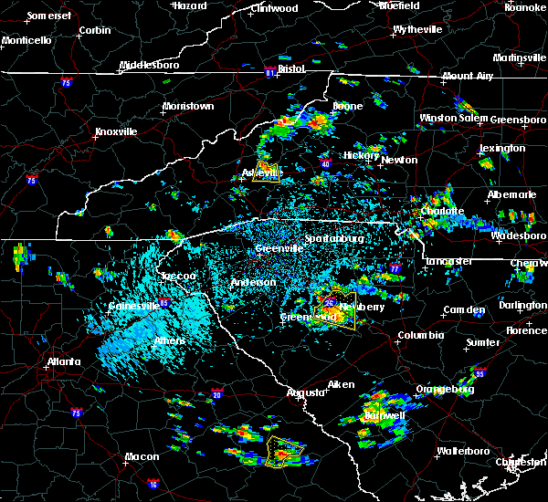 Radar Image for Severe Thunderstorms near Swannanoa, NC at 9/4/2015 3:46 PM EDT