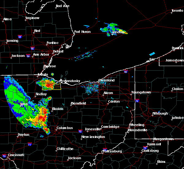 Radar Image for Severe Thunderstorms near Woodville, OH at 9/4/2015 4:02 PM EDT