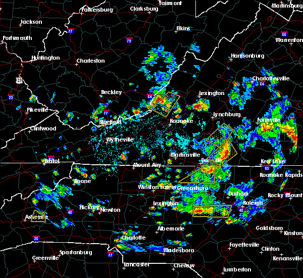 Radar Image for Severe Thunderstorms near Mountain Road, VA at 9/4/2015 4:09 PM EDT