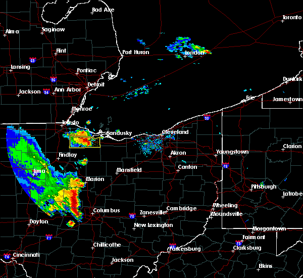Radar Image for Severe Thunderstorms near Woodville, OH at 9/4/2015 4:14 PM EDT