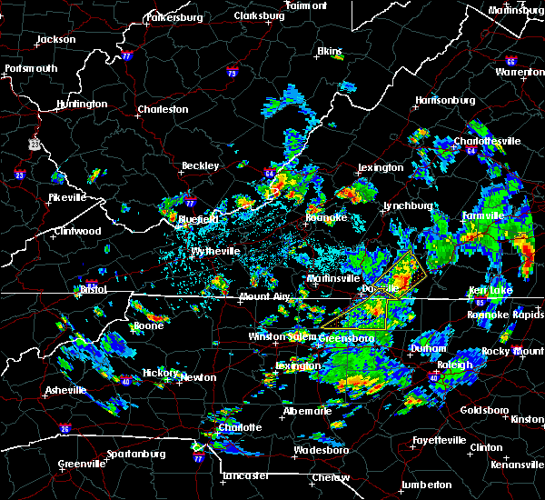 Radar Image for Severe Thunderstorms near Mountain Road, VA at 9/4/2015 4:24 PM EDT