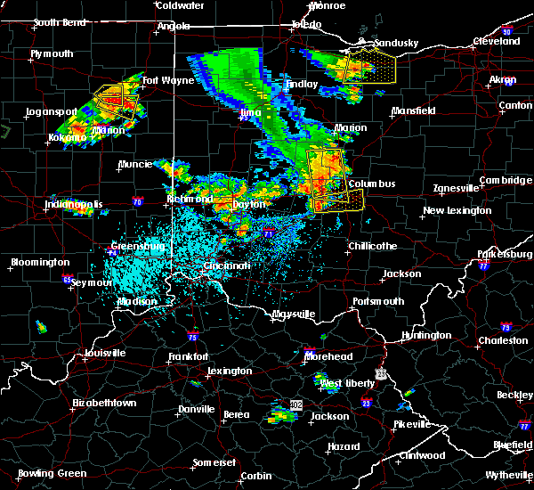 Radar Image for Severe Thunderstorms near Obetz, OH at 9/4/2015 4:39 PM EDT