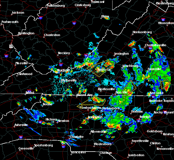 Radar Image for Severe Thunderstorms near Union Hall, VA at 9/4/2015 4:52 PM EDT