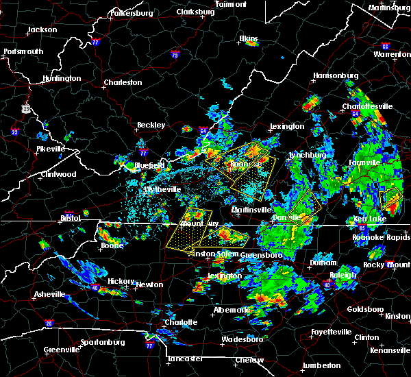 Radar Image for Severe Thunderstorms near Mountain Road, VA at 9/4/2015 4:54 PM EDT