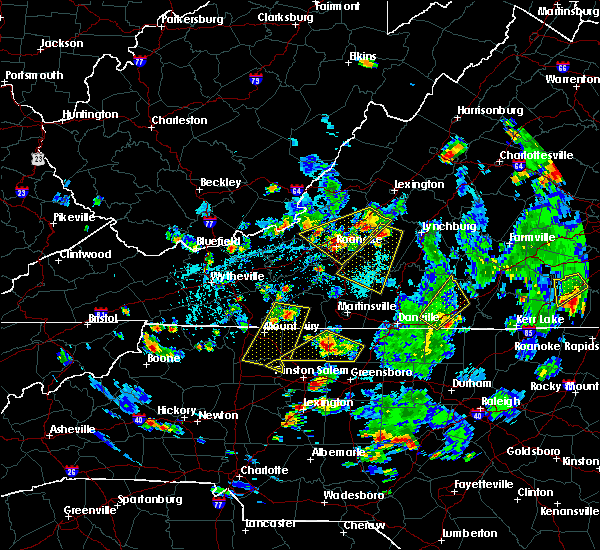 Radar Image for Severe Thunderstorms near Penhook, VA at 9/4/2015 5:01 PM EDT