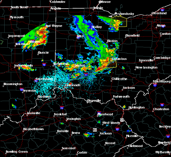 Radar Image for Severe Thunderstorms near Obetz, OH at 9/4/2015 5:04 PM EDT