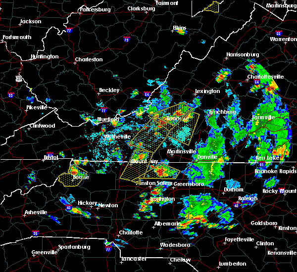 Radar Image for Severe Thunderstorms near Elkin, NC at 9/4/2015 5:10 PM EDT