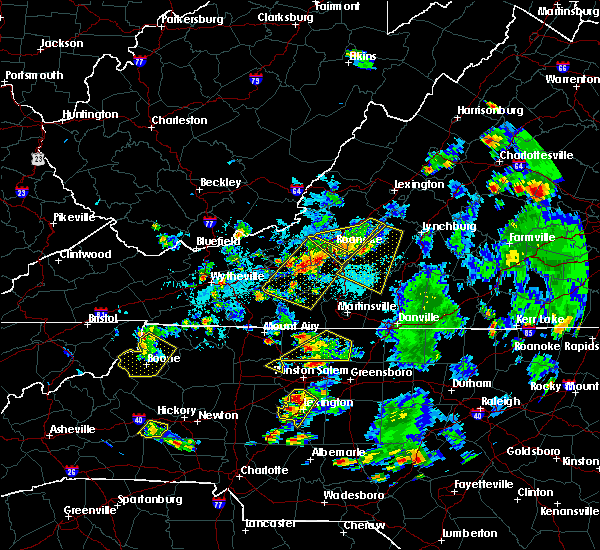 Radar Image for Severe Thunderstorms near Union Hall, VA at 9/4/2015 5:40 PM EDT