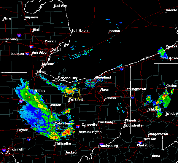 Radar Image for Severe Thunderstorms near Wellington, OH at 9/4/2015 5:51 PM EDT