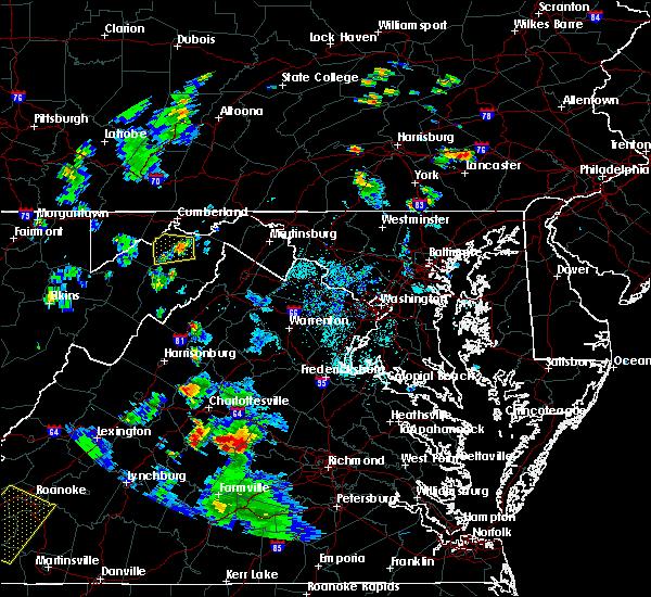 Radar Image for Severe Thunderstorms near Romney, WV at 9/4/2015 5:56 PM EDT