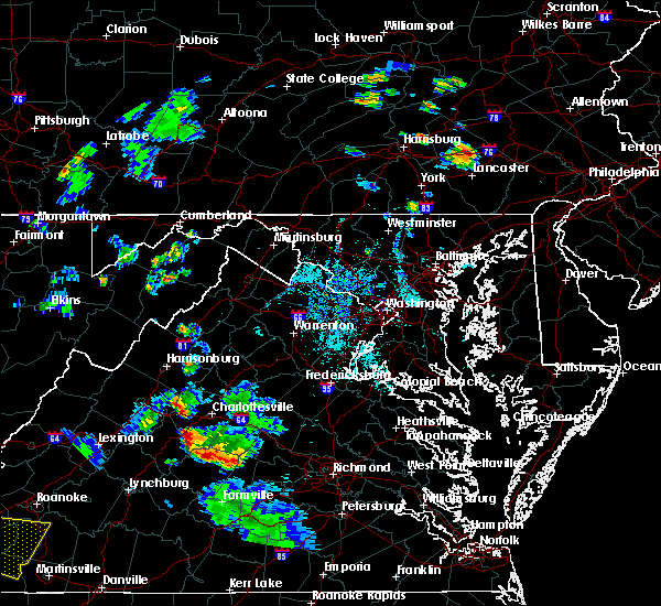 Radar Image for Severe Thunderstorms near Harrisonburg, VA at 9/4/2015 6:17 PM EDT