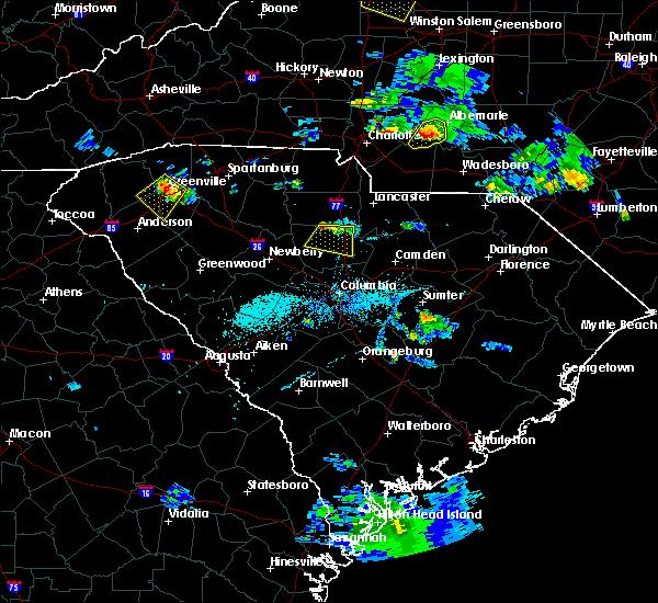 Radar Image for Severe Thunderstorms near Winnsboro, SC at 9/4/2015 7:21 PM EDT