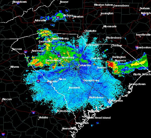 Radar Image for Severe Thunderstorms near Johnston, SC at 9/4/2015 10:52 PM EDT