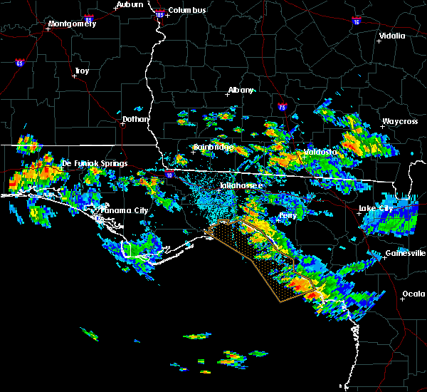 Radar Image for Severe Thunderstorms near Thomasville, GA at 9/5/2015 5:44 PM EDT