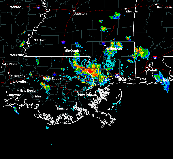 Radar Image for Severe Thunderstorms near Picayune, MS at 9/5/2015 6:45 PM CDT