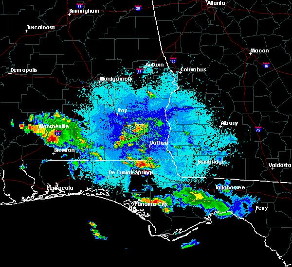 Radar Image for Severe Thunderstorms near Enterprise, AL at 9/5/2015 8:40 PM CDT