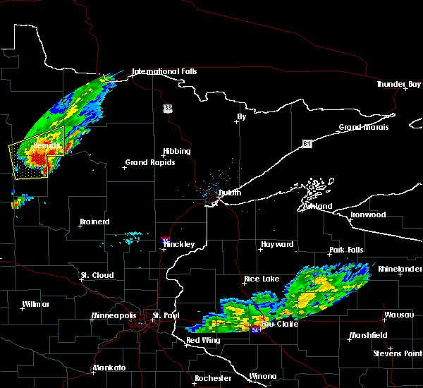 Radar Image for Severe Thunderstorms near Bemidji, MN at 9/6/2015 3:16 PM CDT