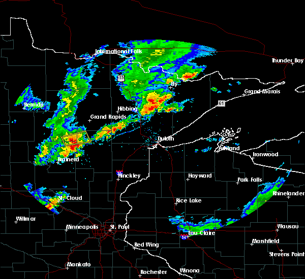 Radar Image for Severe Thunderstorms near Emily, MN at 9/6/2015 6:05 PM CDT