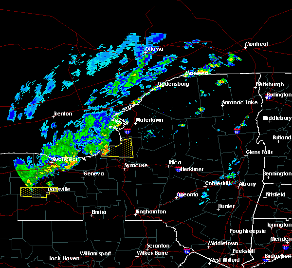 Radar Image for Severe Thunderstorms near Minetto, NY at 9/9/2015 12:21 PM EDT
