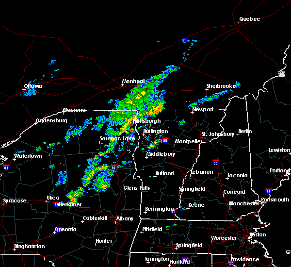 Radar Image for Severe Thunderstorms near Au Sable Forks, NY at 9/9/2015 3:32 PM EDT