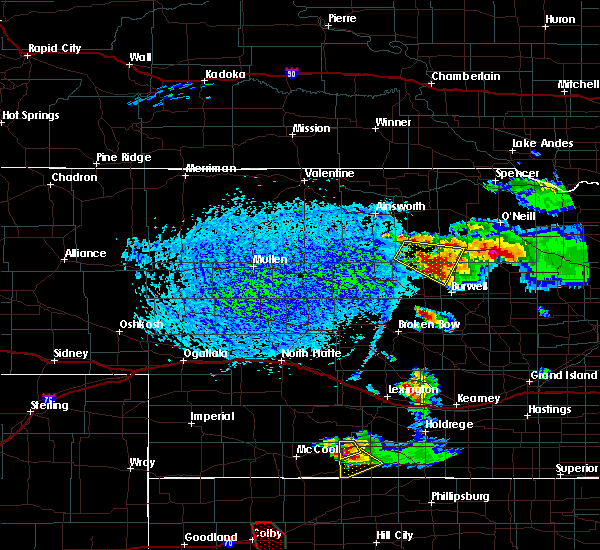 Radar Image for Severe Thunderstorms near Chambers, NE at 9/9/2015 4:52 PM CDT
