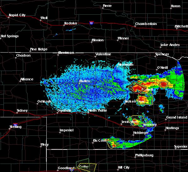 Radar Image for Severe Thunderstorms near Ord, NE at 9/9/2015 5:31 PM CDT