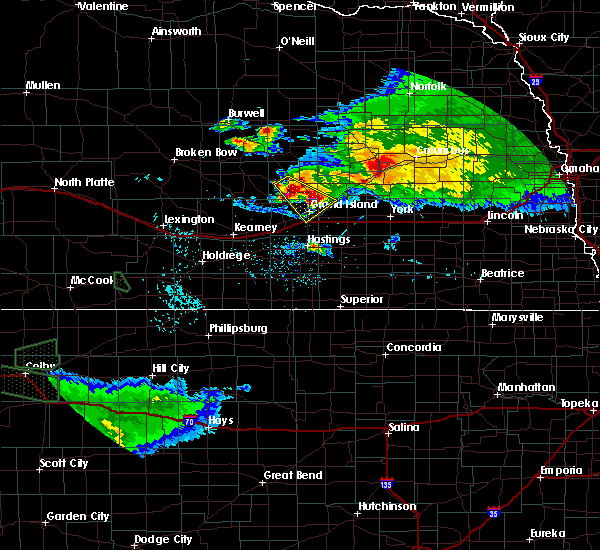 Radar Image for Severe Thunderstorms near Grand Island, NE at 9/9/2015 7:48 PM CDT