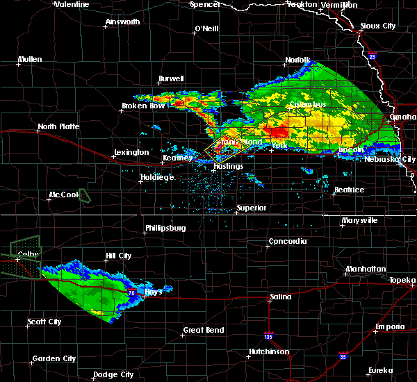 Radar Image for Severe Thunderstorms near Grand Island, NE at 9/9/2015 8:20 PM CDT