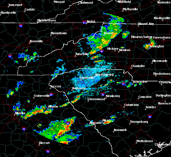 Radar Image for Severe Thunderstorms near Spindale, NC at 9/10/2015 3:32 PM EDT